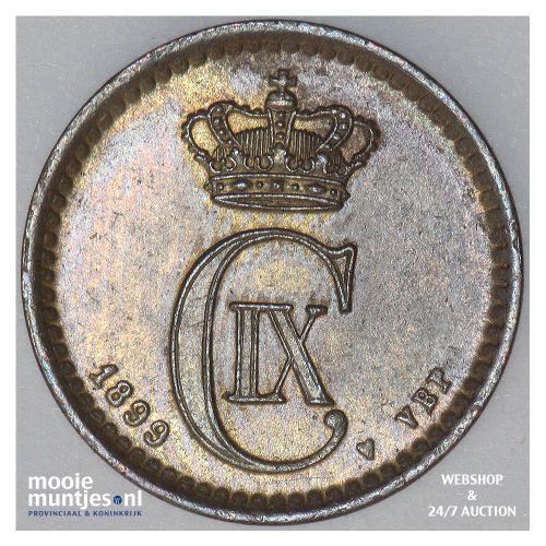 ore - Denmark 1899 (KM 792.2) (kant A)