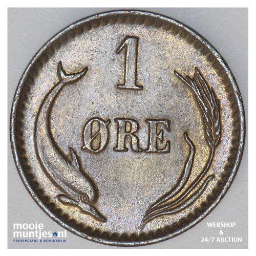 ore - Denmark 1899 (KM 792.2) (kant B)