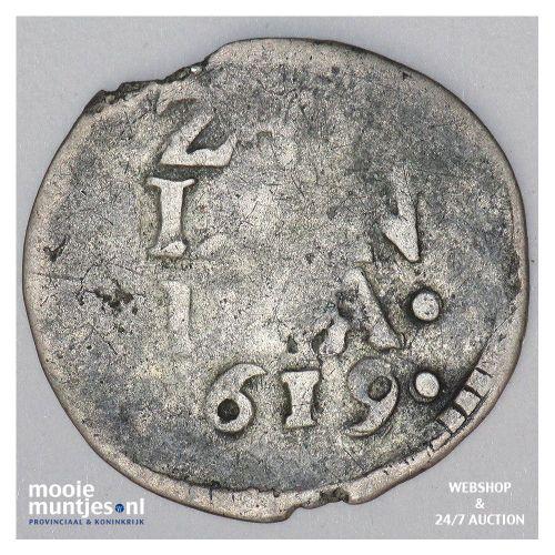 Zeeland - Dubbele stuiver - 1619 (kant A)