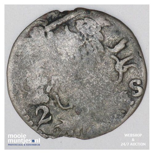 Zeeland - Dubbele stuiver - 1619 (kant B)