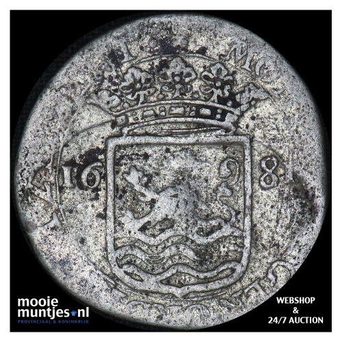 Zeeland - Hoedjesschelling - 1681 (kant A)