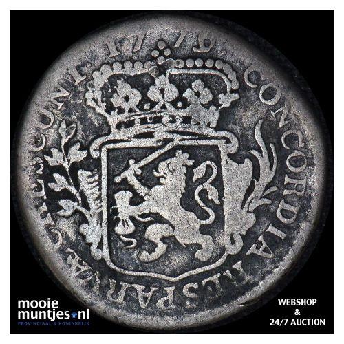 Zeeland - Achtste dukaat of Pietje - 1779 (kant A)