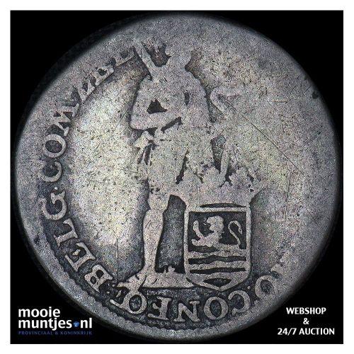 Zeeland - Achtste dukaat of Pietje - 1779 (kant B)