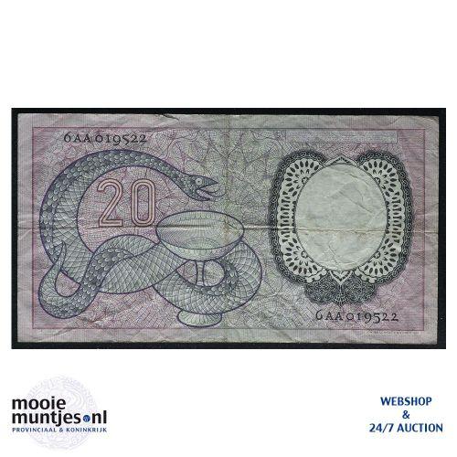 20 gulden - 1955 (Mev. 60-1 / AV 43) (kant B)