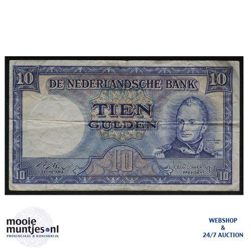 10 gulden  - 1949 (Mev. 47-1 / AV 35A) (kant A)