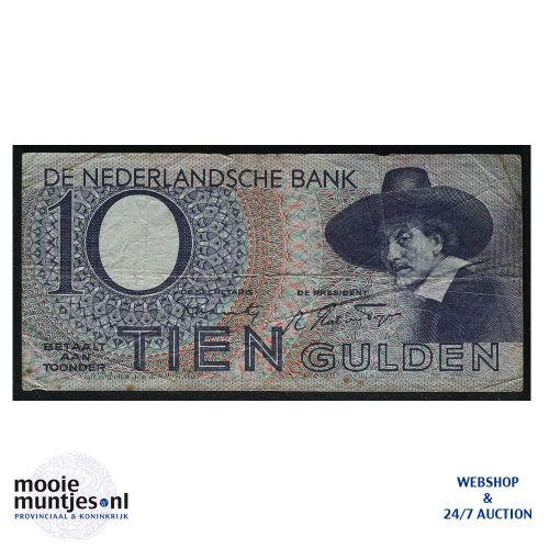 10 gulden  - 1943 (Mev. 43-1 / AV 32) (kant A)