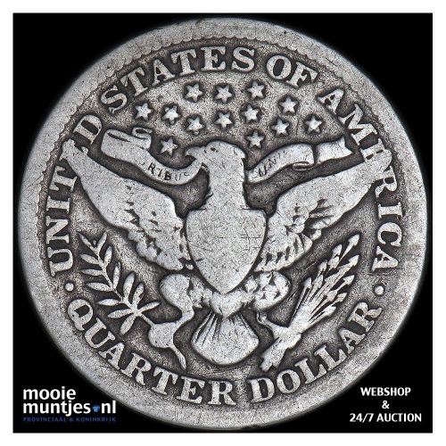 quarter - barber - United States of America 1903 (KM 114) (kant B)