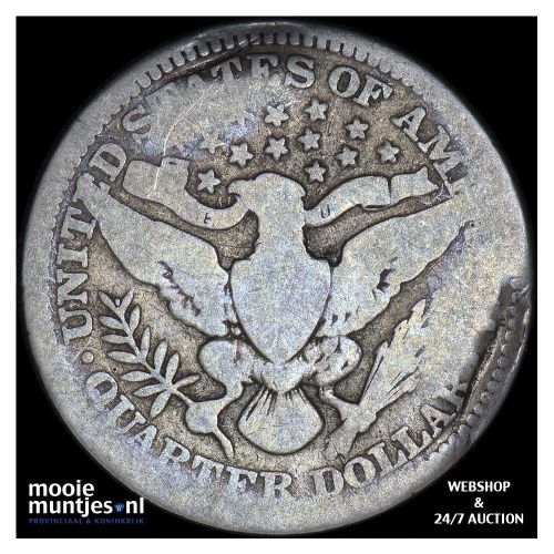 quarter - barber - United States of America 1914 (KM 114) (kant B)