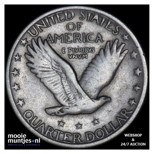 quarter - standing liberty - United States of America 1920 (KM 145) (kant B)