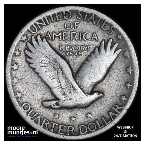 quarter - standing liberty - United States of America 1926 (KM 145) (kant B)