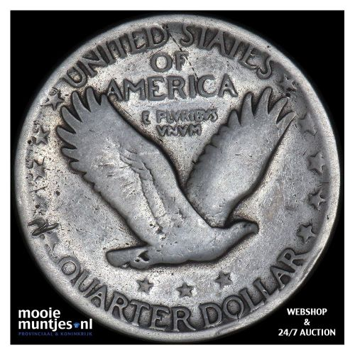 quarter - standing liberty - United States of America 1927 (KM 145) (kant B)