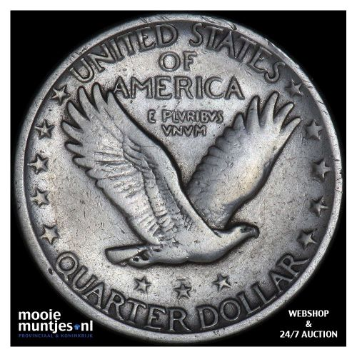 quarter - standing liberty - United States of America 1928 (KM 145) (kant B)