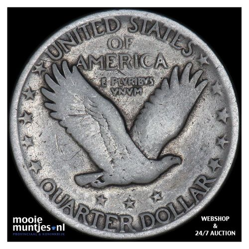 quarter - standing liberty - United States of America 1929 D (KM 145) (kant B)