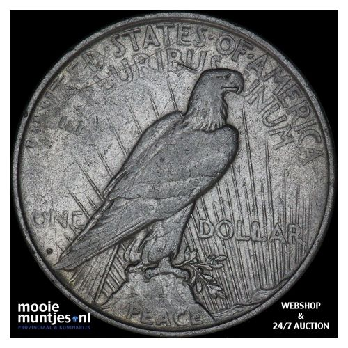 dollar - peace - United States of America 1922 D (KM 150) (kant B)