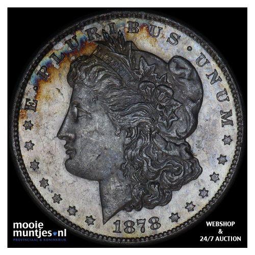 dollar - Morgan - United States of America/Circulation coinage 1878 S (KM 110) (