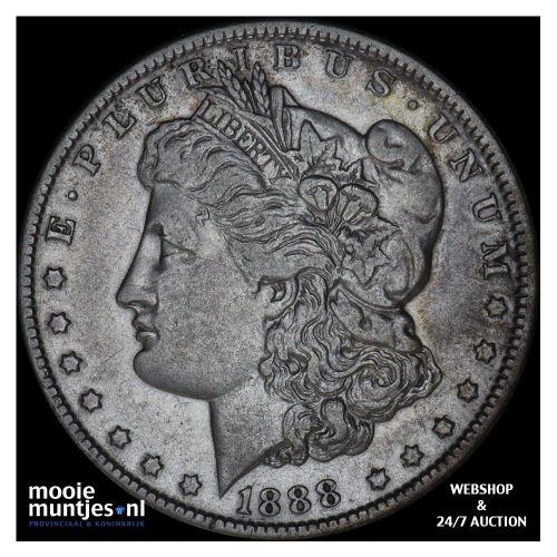 dollar - Morgan - United States of America/Circulation coinage 1888 O (KM 110) (