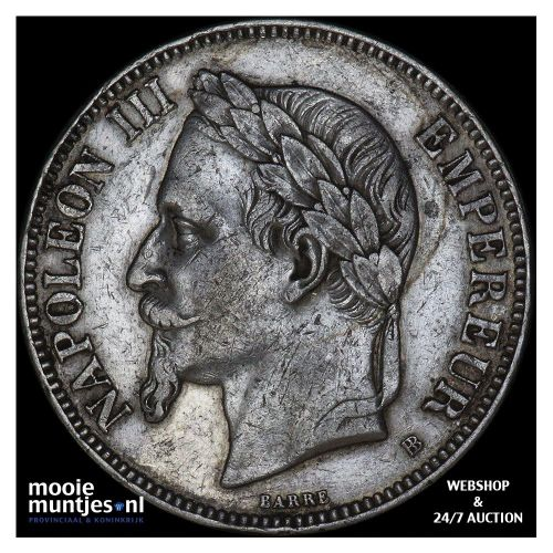 5 francs - France 1870 BB (Strasbourg) (KM 799.2) (kant B)
