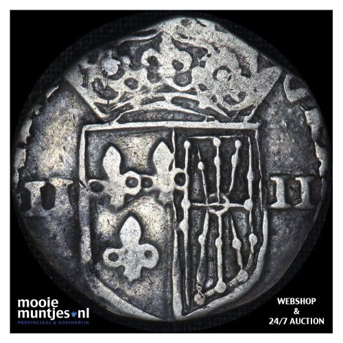 1/4 ecu - France jaartal onleesbaar (KM 48) (kant A)