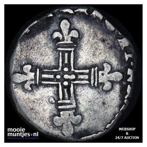 1/4 ecu - France jaartal onleesbaar (KM 48) (kant B)