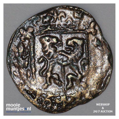 Roermond - Achtste stuiver of duit van 6 mijten - 1633 (kant A)