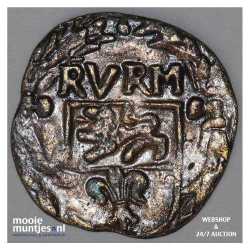 Roermond - Achtste stuiver of duit van 6 mijten - 1633 (kant B)