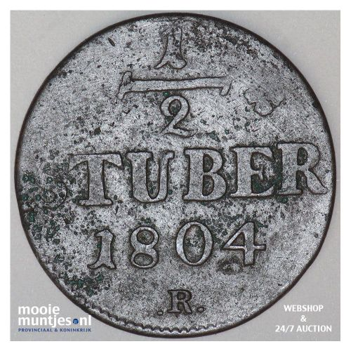 1/2 stuber - duchy - German States/Berg 1804 (KM 2) (kant A)