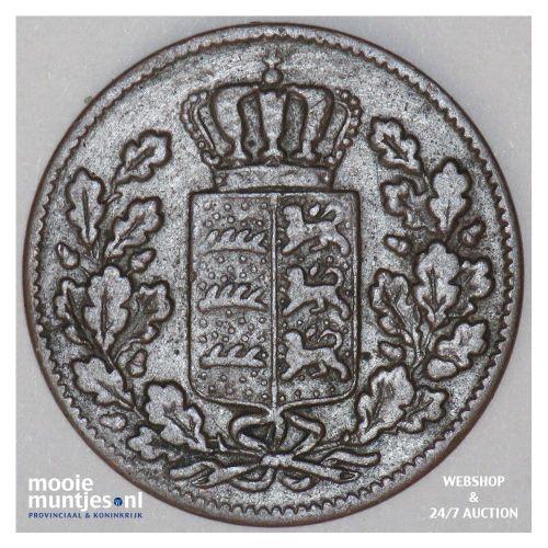1/2 kreuzer (4 pfennig) - kingdom (regular coinage) - German States/Wurttemberg
