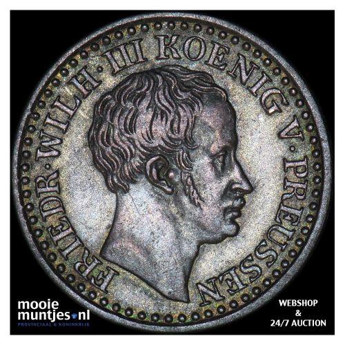 groschen - German States/Prussia 1827 D (KM 410) (kant B)