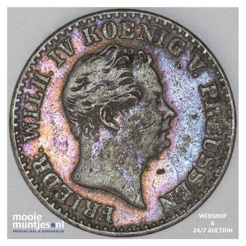 2 1/2 silber groschen - German States/Prussia 1843 (KM 444) (kant B)
