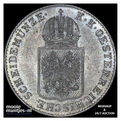 6 kreuzer - Austria 1848 A (KM 2199) (kant B)