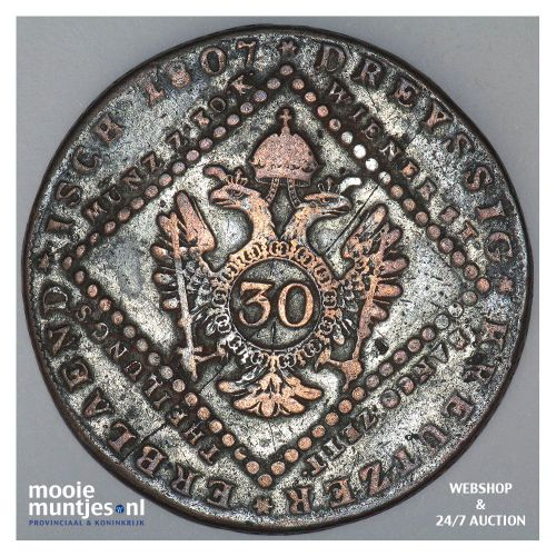 30 kreuzer - Austria 1807 S (KM 2149) (kant A)