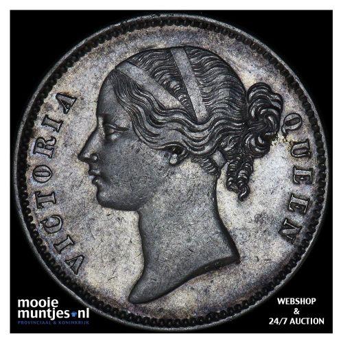 rupee - India-British 1840 (KM 458.2) (kant B)