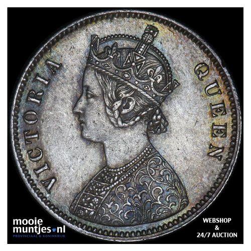 rupee - India-British 1862 (KM 473.1) (kant B)