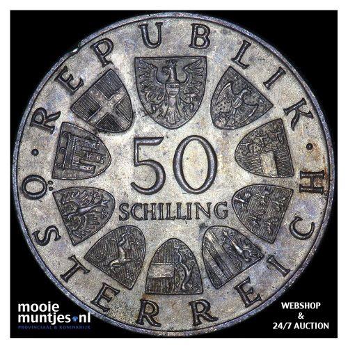 50 schilling - Austria ND (1966) (KM 2900) (kant B)