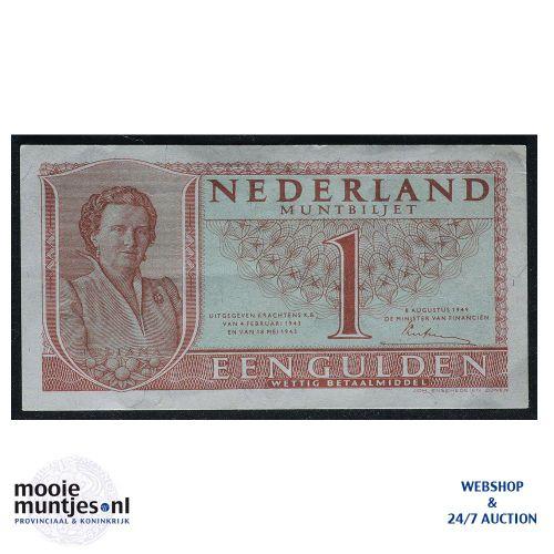1 gulden - 1949 (Mev. 07-1a / AV 7) (kant A)