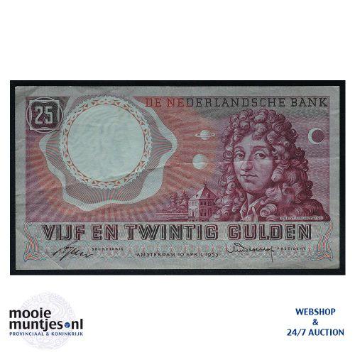 25 gulden - 1955 (Mev. 83-1a / AV 55) (kant A)
