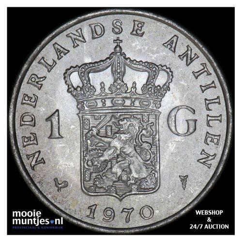 Nederlandse Antillen  - 1 gulden - 1970 (kant A)