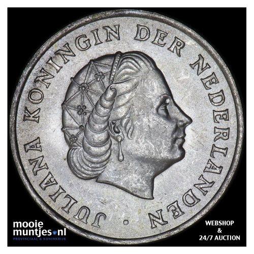 Nederlandse Antillen  - 1 gulden - 1970 (kant B)
