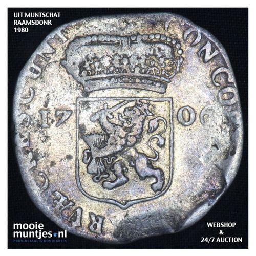 Zeeland - Zilveren dukaat - 1706 (kant A)