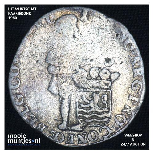 Zeeland - Zilveren dukaat - 1714 (kant B)