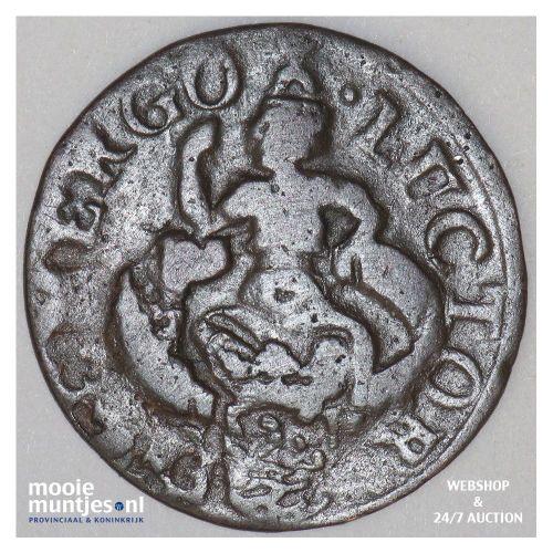 Zeeland - Duit - 1689 (kant B)