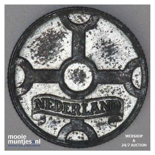 1 cent - Wilhelmina - 1942 (kant B)