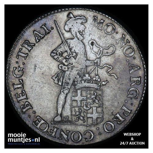 Utrecht - Zilveren dukaat - 1796 (kant B)