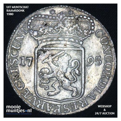 Zeeland - Zilveren dukaat - 1795 (kant A)