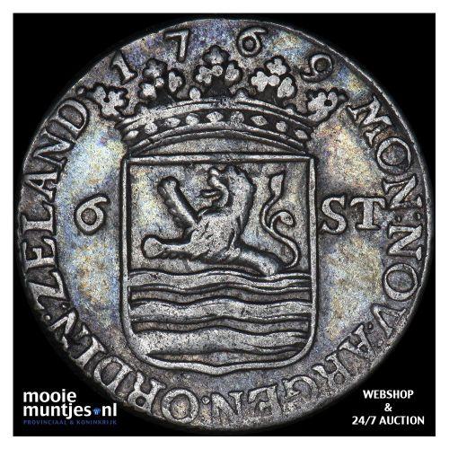 Zeeland - Scheepjesschelling - 1769 (kant A)