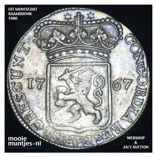 Zeeland - Zilveren dukaat - 1767 (kant A)