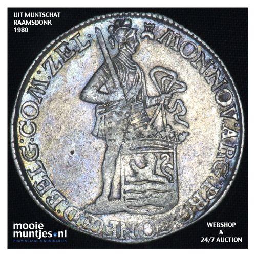 Zeeland - Zilveren dukaat - 1767 (kant B)