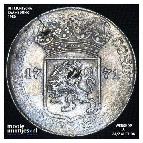 Zeeland - Zilveren dukaat - 1771 (kant A)