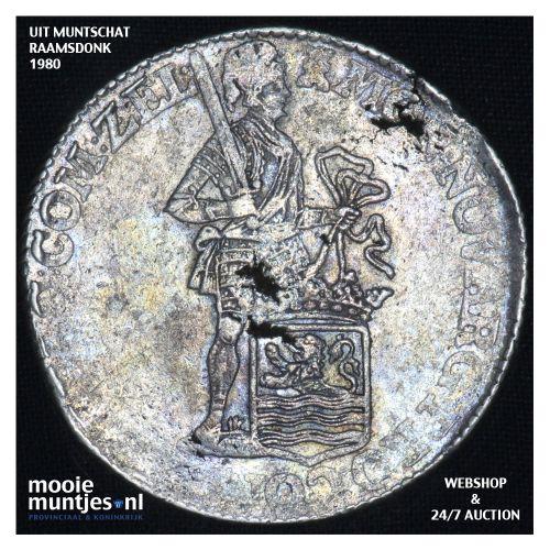 Zeeland - Zilveren dukaat - 1771 (kant B)