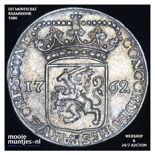 Zeeland - Zilveren dukaat - 1762 (kant A)